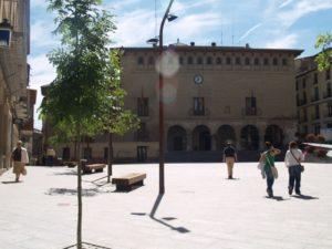 Ayuntamiento de Monzón. Foto R.S.