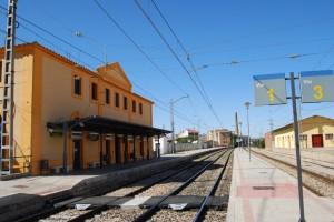 Estación de tren de Monzón. Foto JLP.