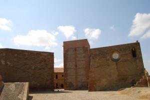 Castillo templario de Monzón. Foto JLP.