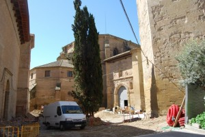 Obras en el Palacio Episcopal. Foto JLP.