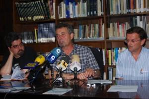 Pere Rovira junto a Jambrina y Sánchez. Foto JLP.