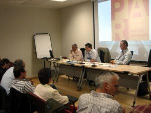 El Comité tuvo lugar en el Centro de Congresos de Barbastro.