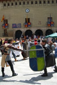 La Plaza Mayor acogerá una recreación histórica. Foto JLP.