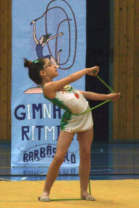 Ana Buil durante su actuación. Foto S.E.