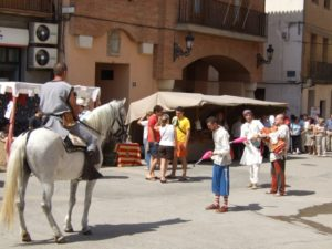 Mercado medieval de Peralta de Alcofea. Foto S.E.
