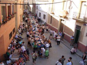 Gran participación en el enceuntro de encaje de bolillos. Foto S.E.