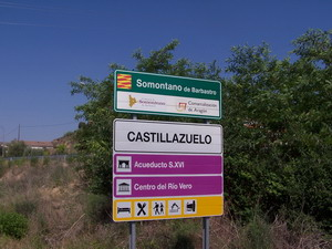 Los fotógrafos enfocarán su objetivo en Castillazuelo durante las próximas semanas.