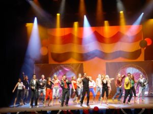 Brillantina, el musical de Grease. Foto S.E.