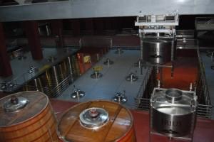 Alta tecnología en la bodega Irius. Foto JLP.