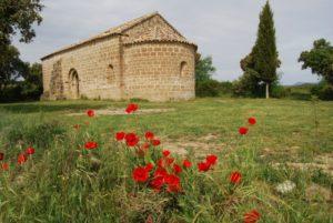 Ermita de Casbas de Huesca. Foto JLP.
