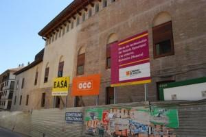 Las obras del Palacio Episcopal y entorno catedralicio están en su última fase. Foto JLP.