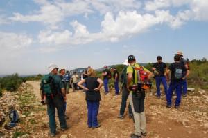 Equipos de búsqueda. Foto JLP.
