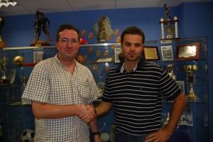 Julián Alamán y Moisés Gutiérrez. Foto JLP.