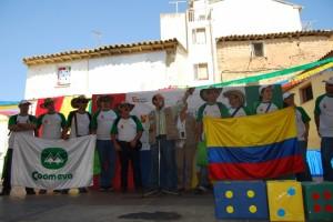 Los colombianos recibieron una ovación. Foto JLP.