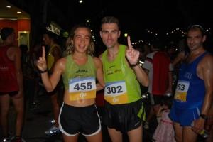Mireia Sosa y Albert Caballero, campeones de la 10 k.