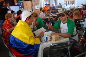 Los campeones colombianos. Foto JLP.