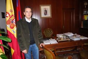 Fernando Heras, alcalde de Monzón. Foto JLP.