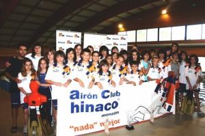 Equipo campeón de Hinaco Monzón. Foto S.E.