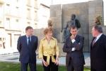Inauguración de la restauración del monumento. Foto S.E.