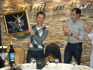 Martín Fiz con Fernando Torres. Foto S.E.