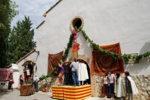 Representación de La Morisma. Foto JLP.