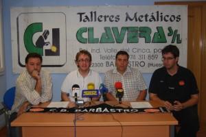 Presentación de la nueva campaña del Talleres Clavera. Foto JLP.