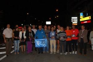 Homenaje a los ayuntamientos que han colaborado con la Carrera de la Solidaridad. Foto JLP.