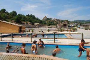 Cada verano el número de bañistas es más numeroso. Foto JLP.