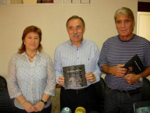 Nieves Juste, Jaime Facerías y Vicente Baldellou. Foto R.S.