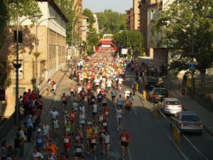 950 corredores participaron en el Medio Maratón. Foto Antonio Carvajal.