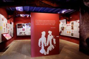 El nuevo centro de interpretación de Colungo. Foto R.S.