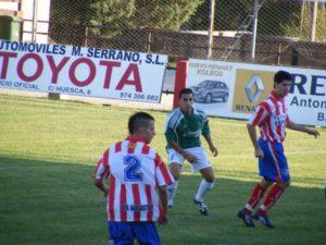 Partido disputado ante el Cuarte. Foto Ángel Huguet.
