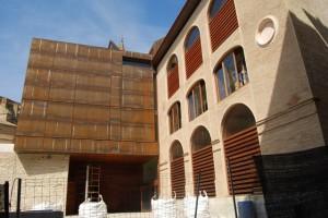 Las obras en el museo diocesano están finalizadas. Foto JLP.