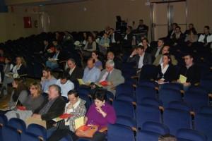 El congreso reúne a cerca de 200 personas. Foto JLP.