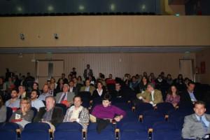 Asistentes al Congreso de Enoturismo en Barbastro. Foto JLP.