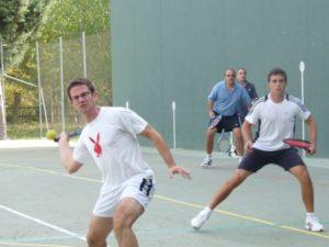 Uno de los partidos disputados en Pozán. Foto Carmen Guardia.