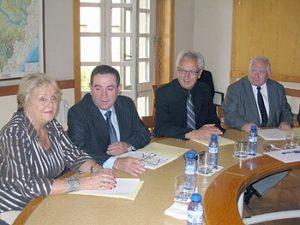 Reunión del consorcio aragonés francés. Foto S.E.