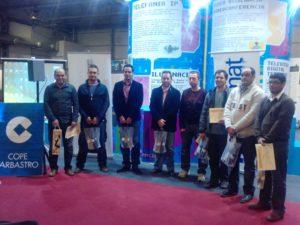 Participantes en el concurso de blogs y en el debate sobre medios de comunicación. Foto R.S.