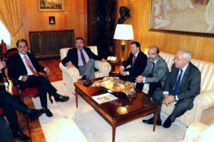 Reunión de los alcaldes. Foto S.E.