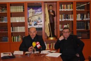 Alfonso Milián y José Huerva. Foto JLP.