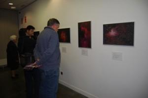 Asistentes a la exposición de astrofotografía. Foto JLP.
