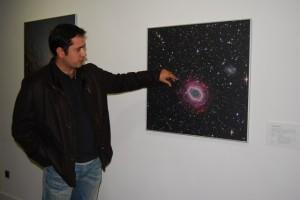 Lamadrid explica la que para él es su mejor foto. Foto JLP.