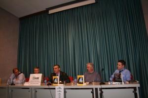 Presentación de las novelas ganadoras. Foto S.E.