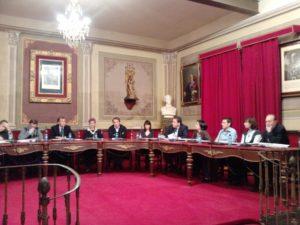 Sesión plenaria de ayer. Foto R.S.