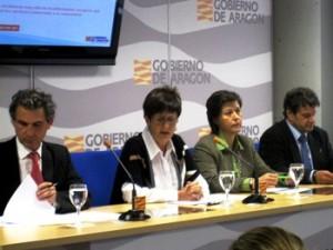 La consejera Noeno durante la presentación de la campaña. Foto S.E.