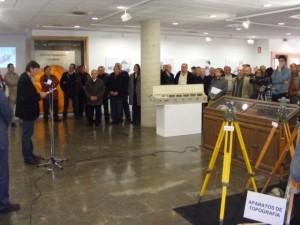 Inauguración de la exposición. Foto JLP.