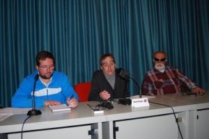 Integrantes de la nueva junta gestora provisional. Foto JLP.