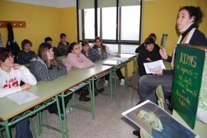 """Una de las clases en el IES """"Hermanos Argensola"""". Foto JLP."""