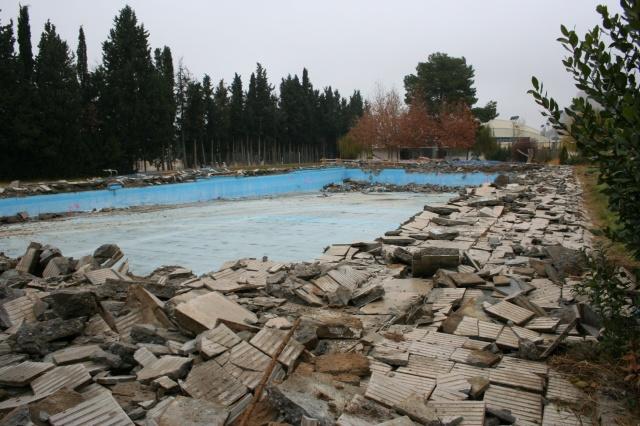 Comienzan las obras de remodelaci n de las piscinas for Piscinas de monzon