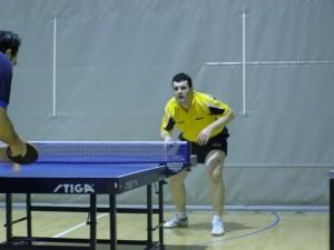 Mario Palacio durante un partido. Foto S.E.